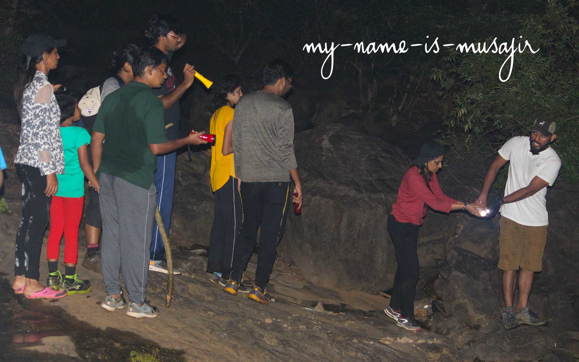 Night trek in the dense Forest of Maharashtra - Ratangad Fort