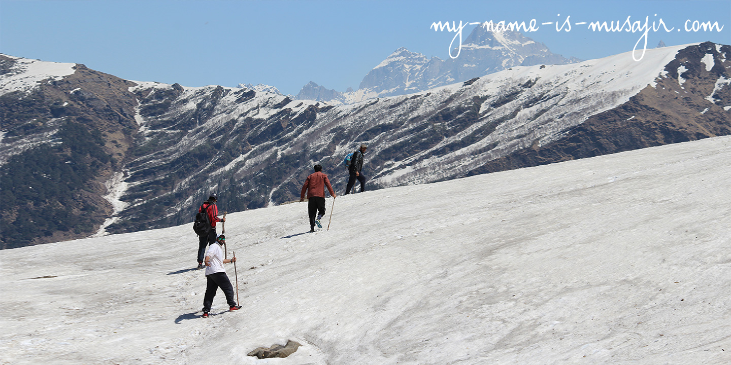 Backpacking Trek to Chanderkhani Pass - Manali